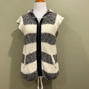 Free people striped knitted vest